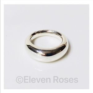 Gucci Sterling Silver Dome Ring